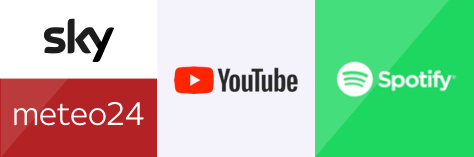 Sky Meteo 24 - Youtube - Spotify