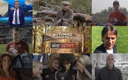Autunno, l'alta stagione dello sport su Sky. VIDEO