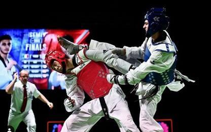 Taekwondo, Dell'Aquila bronzo al GP di Sofia