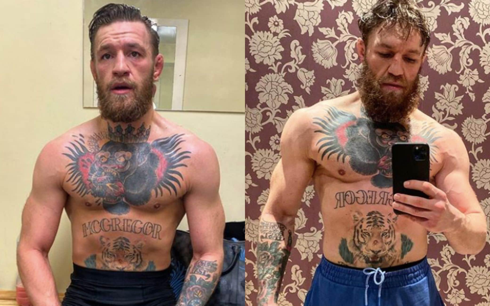 Conor McGregor su Instagram @thenotoriousmma
