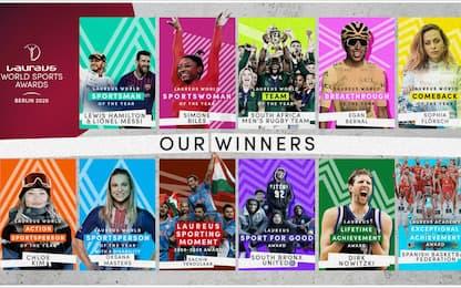 Laureus Awards, Hamilton e Messi sportivi del 2019