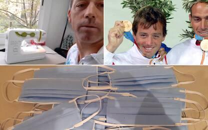 """Spagna, olimpionico di vela: """"Cucio mascherine"""""""