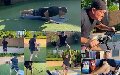 Octathlon in casa: 8 sport più merenda in 1 minuto
