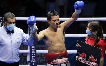 In Nicaragua boxe con distanziamento sociale. FOTO