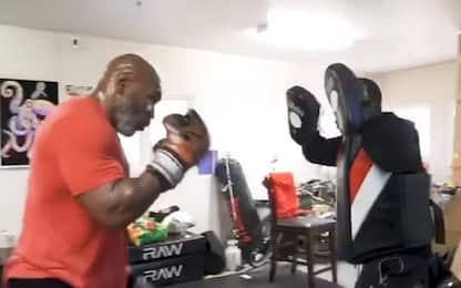 Tyson, allenamenti 'old style': torna sul ring?