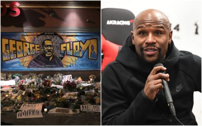 Morte George Floyd, Mayweather pagherà il funerale