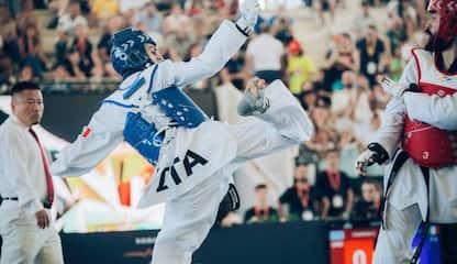 "Taekwondo, Dell'Aquila: ""Mi manca combattere"""