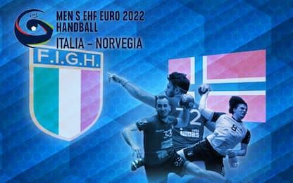 Pallamano, verso Euro 2022: Italia-Norvegia su Sky