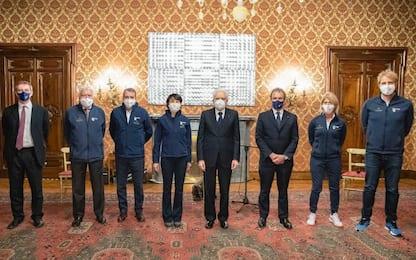 Mattarella incontra i campioni del progetto Legend