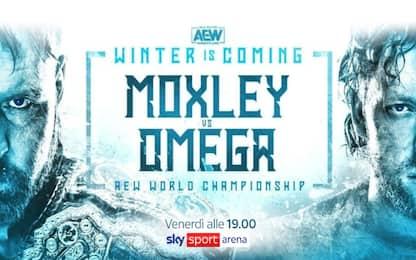 AEW, Moxley vs Omega: il match dell'anno su Sky