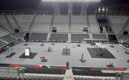 Pronta l' Arena al Foro Italico allenamenti sicuri