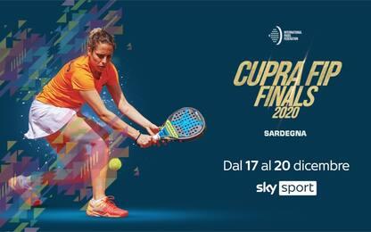 Padel, Cupra Fip Finals: da oggi LIVE su Sky