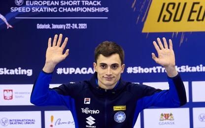 Short track: Sighel bis d'argento agli europei