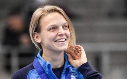 Immensa Arianna Fontana: è bronzo nell'overall
