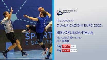 Pallamano, l'Italia in Bielorussia per Euro 2022
