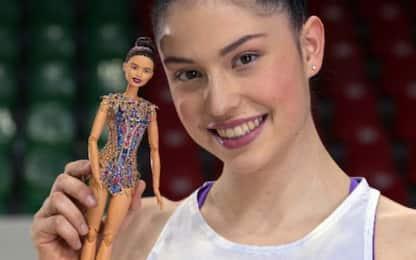 Ginnastica, Milena Baldassarri diventa una Barbie