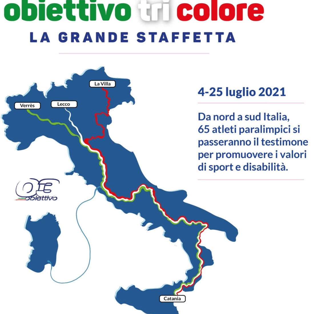 Mappa Grande Staffetta