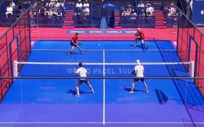 Puntazo e spettacolo al Marbella Open. VIDEO