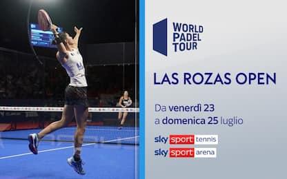 Padel, weekend lungo con il Las Rozas Open su Sky