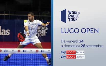 Lugo Open,  su Sky fasi finali del torneo spagnolo