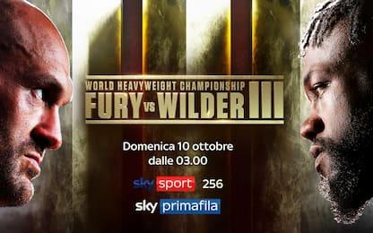 Wilder sfida Fury, live in PPV su Sky