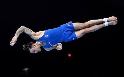 Nicola Bartolini oro mondiale nel corpo libero