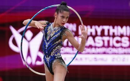 Mondiali, bronzo per Sofia Raffaeli nel cerchio