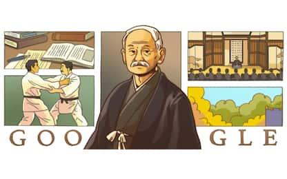 Google dedica doodle a Kanō Jigorō, padre del judo