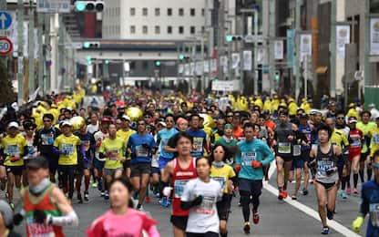 Coronavirus, cancellata maratona di Tokyo amatori