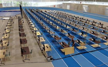 Belgio, esami universitari su pista di atletica