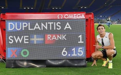 Asta, 6.15 per Duplantis: record del mondo outdoor