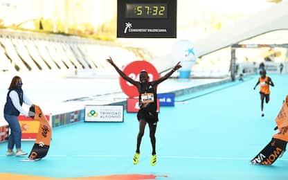 Mezza Maratona Valencia: Kandie record del mondo