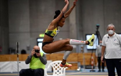 Iapichino vola a 6.75: record italiano U20 indoor