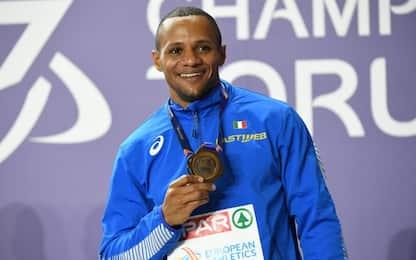 Dal Molin bronzo nei 60 hs: 3^ medaglia azzurra