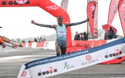 Siena, la maratona donne più veloce in Italia