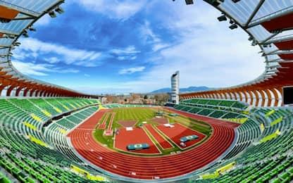 Su Sky il World Athletics Continental Tour Gold