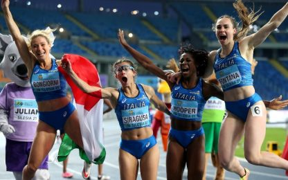 World Relays, 4x100 donne e mista sono d'oro