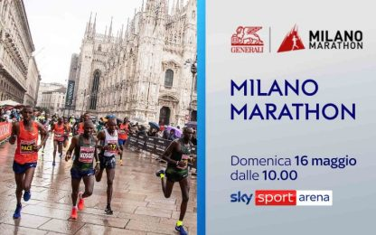 Milano Marathon 2021, domenica la gara su Sky
