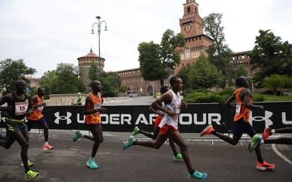 Milano Marathon, Ekiru e Gebrekidan da record