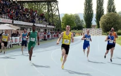 Tortu, 10.18 nel suo debutto stagionale a Rieti