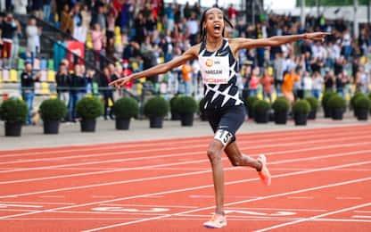 Hassan, record mondiale nei 10mila metri donne