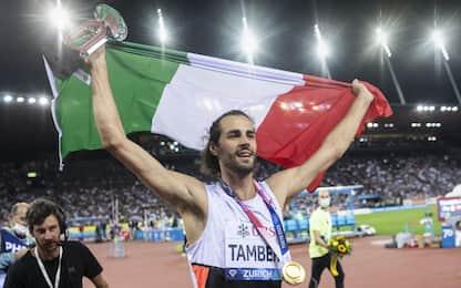 Diamante a Tamberi, è il primo italiano a vincerlo