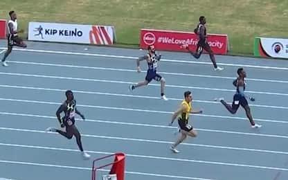 Strepitoso Tortu, 20.11 nei 200 m a Nairobi