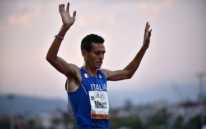 Roma Ostia half marathon, Meucci secondo