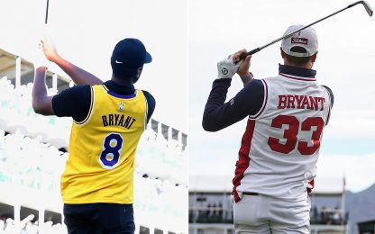 Golf, l'omaggio dei campioni a Kobe Bryant. FOTO