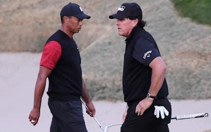 Woods-Mickelson, super sfida a porte chiuse?