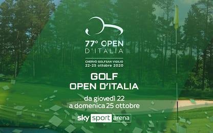 Open d'Italia al via: tutto il torneo live su Sky