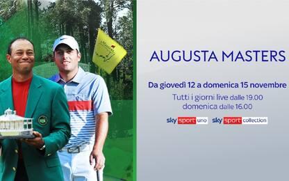 Augusta Masters al via: da giovedì live su Sky