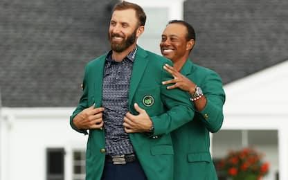 Johnson, trionfo da record: sua la 1^ giacca verde