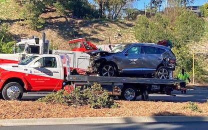 Woods operato dopo l'incidente: vigile e reattivo